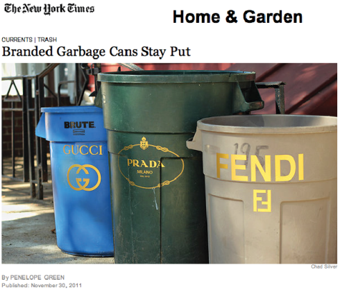 Branded Garbage Cans